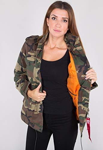 Alpha Industries Vintage M-65 CW Damen Jacke Camouflage S