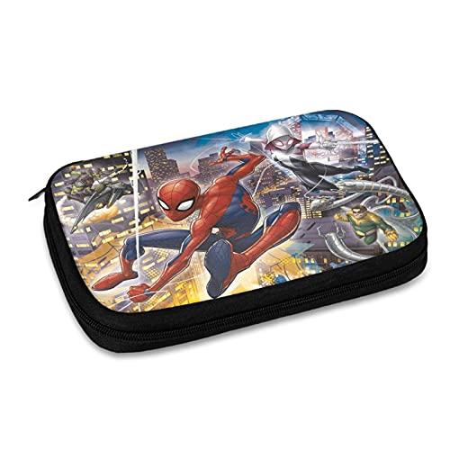 Spiderman Sac de rangement pour accessoires électroniques, sac de rangement pour câble USB