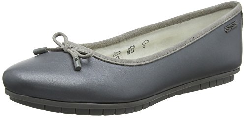 bugatti Damen 422431601034 Slipper, Grau (Metallics/Grey 9015), 41 EU
