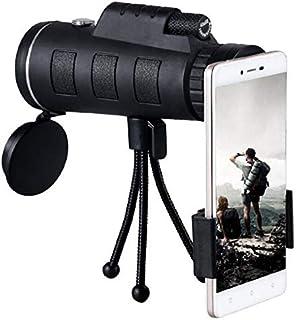 Monokular Teleskop, 40X60 High Power HD Monokular mit Smartphone Halter und Stativ