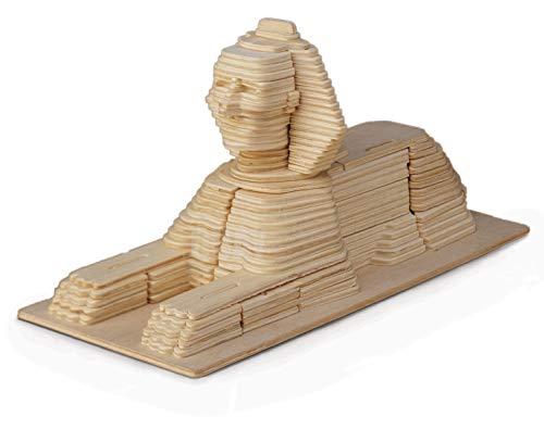 Sphinx Woodcraft Construction Kit FSC construcción, Color marrón (P057)