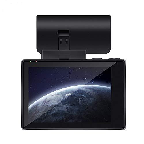 MYYINGELE 4K - 2880×2160P Dashcam Auto, 3 In Full HD GPS WiFi Dual Vorne&Hinten Autokamera mit WDR, Bewegungserkennung, G-Sensor, Parküberwachung, Loop-Aufnahme, Nachtsicht