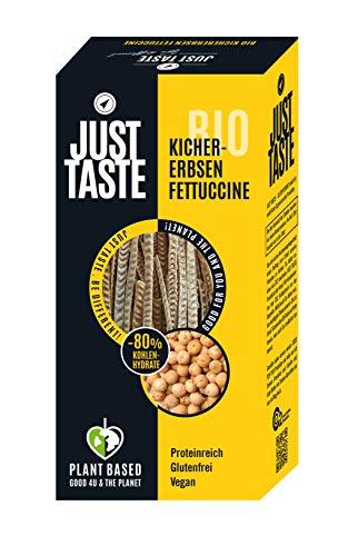 JUST TASTE – Kichererbsen Fettucchine – Die neue BIO Gemüse Pasta – 6er Pack á 250g