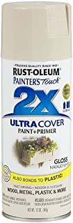 Rust-Oleum 249099 Painter's Touch 2X Ultra Cover, 12-Ounce, Navajo White