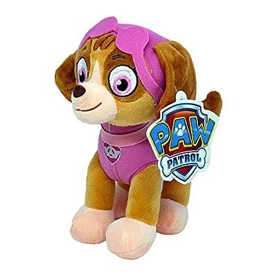 Patrulla Canina (paw Patrol) - Peluche Personaje Skye, Cocker Spaniel Experta En Volar (26cm De Pie) Calidad Super Soft - Color Rosa - de Spin Master