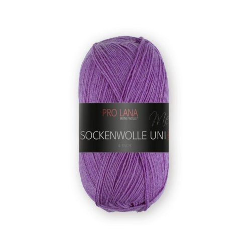 PRO LANA Sockenwolle Uni 4Fädig - Farbe: 423 - 100 g / ca. 420 m Wolle