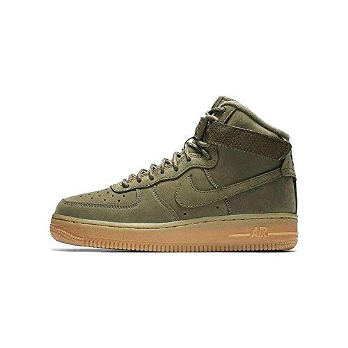 Nike - Air Force 1 High Medium - 922066202 - Farbe: Olivgrün - Größe: 36.5 EU