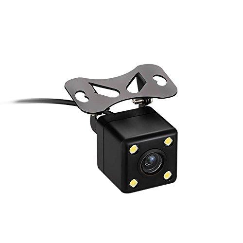 Navinio Super Mini Caméra de Recul, Guideline On / Off, NTSC / PAL, Mini Caméra de Vue Avant et Arrière pour Voiture Camion Van
