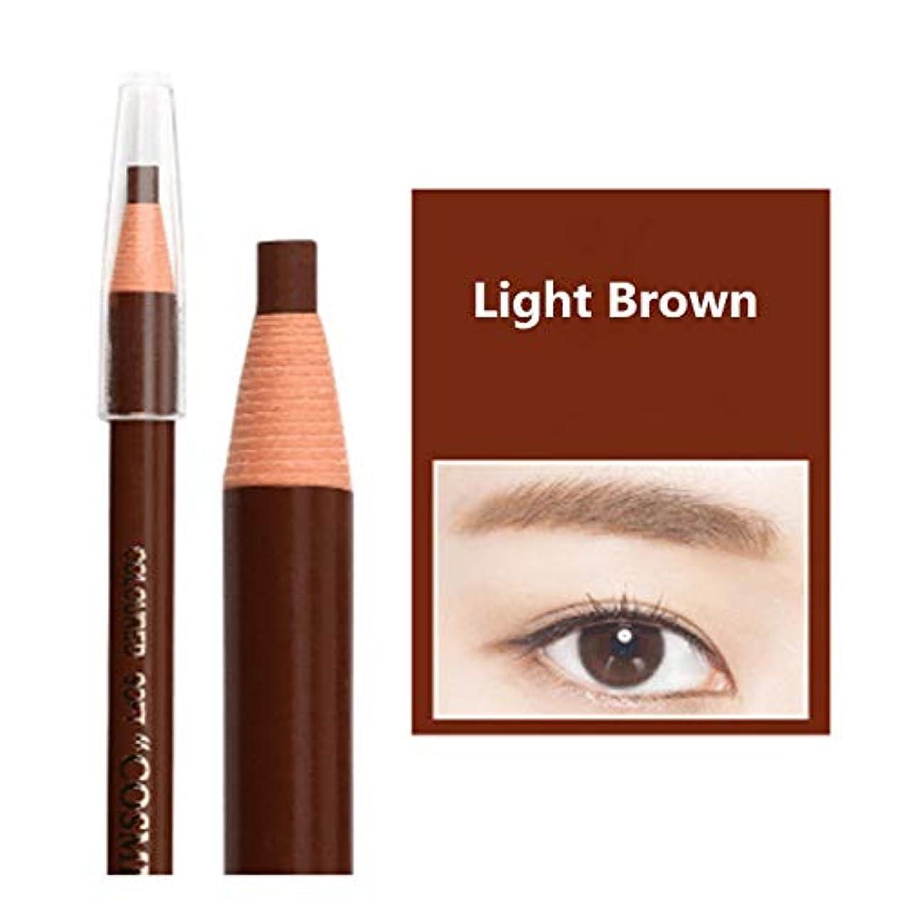 Quality 12Pcs/ Lot 5 Colors Real Top Long-Lasting Full Cosmetic Art Eyebrow Pencil By Light Brown Pencil qkgjnpzgipymn357