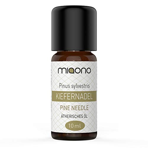 Kiefernadel Öl - 100% naturreines, ätherisches Öl (10ml) von miaono (Glasflasche)
