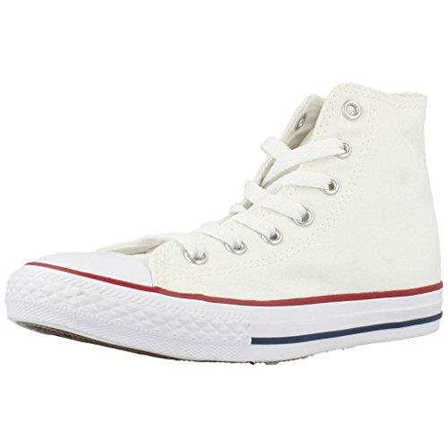 Converse Chuck Taylor All Star, Zapatillas Altas Unisex Niños, Blanco (White 3j253c),...