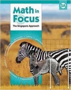 Math in Focus: Singapore Math, Book a Grade 5