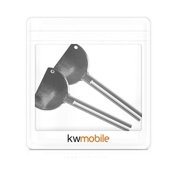 kwmobile 2x Exprimidor de tubos metálico – Apretadores de pasta