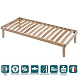 <span class='highlight'>EVERGREENWEB</span> Single Wood Bed Frame 3' x 6'3
