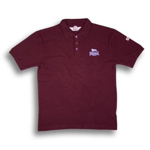 Lonsdale London Polo Shirt ACTON 110010 oxblood Gr.XL