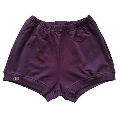 Ninguna marca luhayesa profesional Iyengar Yoga pantalones cortos mujeres rosa suave tela algodón Iyengar pantalones cortos