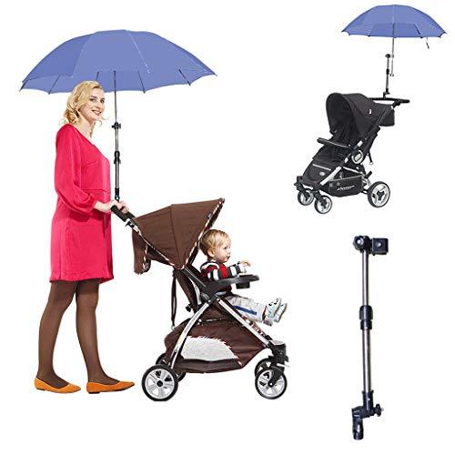Regenschirmständer, Rahmenständer verstellbar 2 Abschnitt Rohrgriff Fahrrad Kinderwagen Rollstuhl Stuhl Baby, Säuglingspflege