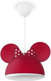 Philips Minnie Mouse Tavan Armatürü, Watts, Kırmızı