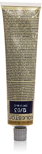 Koleston Coloration capillaire 60 ml, 12/03 - Blond doré spécial et naturel