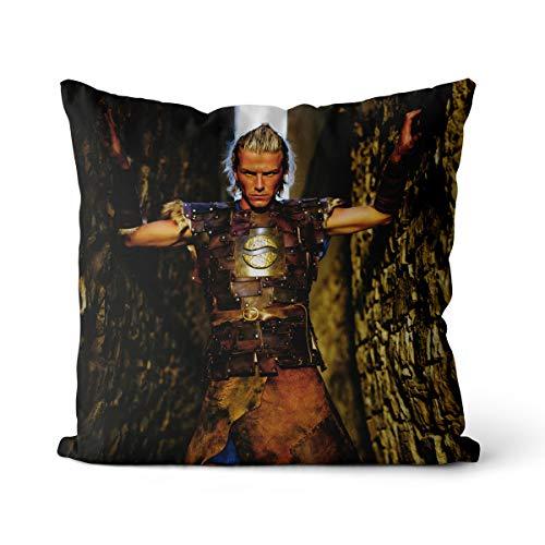 David Beckham - Funda de almohada impresa con estampado de futbolista de Inglaterra para sofá cama, coche, sala de estar, dormitorio, decoración del hogar (40 x 40 cm)