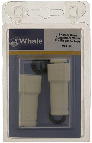 Whale connecteurs de Tuyau de Douche Blanc