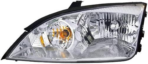 Koolzap For 05-07 Ford Focus ZX4 Headlight Headlamp Halogen Head Light Lamp Left Driver Side