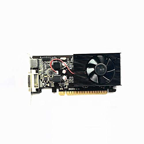 Romsion Scheda Grafica Indipendente Per Giochi Per Computer GT730 Mezza Altezza Scheda Grafica Piccola Scheda Video DDR3 Da 2G A 64 Bit