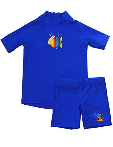 iQ-UV Kinder UV Kleidung 300 Set Kiddys Mia Carlo, Deep-Blue, 92