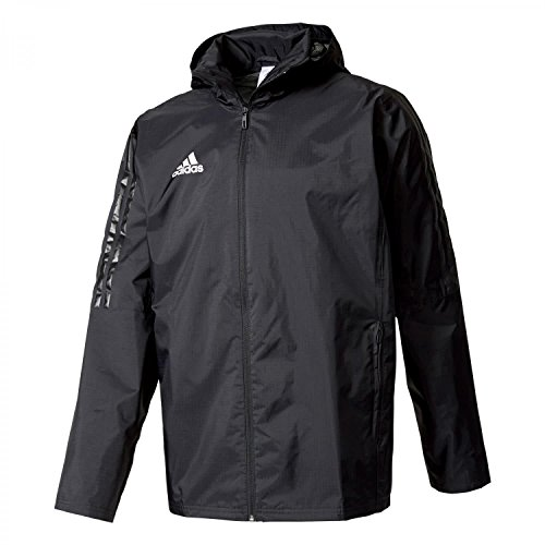 adidas Tiro 17 Storm Jacket Chaqueta, Hombre, Negro (Blanco), M