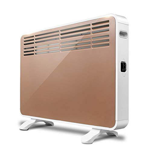 AIR-Ice Winter heaters Household Convection Energy-Saving Electric Heating Living Room Bathroom Waterproof Silent Heater Fan Stove 2100W, 70 × 22.5 × 53.5cm