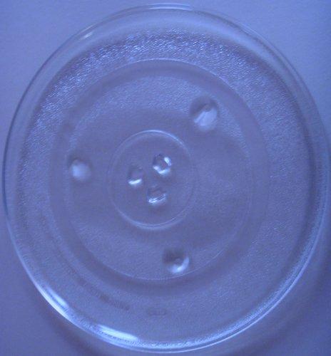 Mikrowellenteller / Drehteller / Glasteller für Mikrowelle # ersetzt LIFE Mikrowellenteller # Durchmesser Ø 31,5 cm / 315 mm # Ersatzteller # Ersatzteil für die Mikrowelle # Ersatz-Drehteller # OHNE Drehring # OHNE Drehkreuz # OHNE Mitnehmer