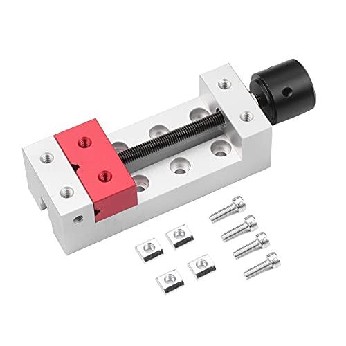 Mini tornillo de banco de prensa de taladro de 2 pulgadas, abrazadera plana, tornillo de banco de abrazadera C para tallar, máquina de grabado, reparación de relojes de nogal