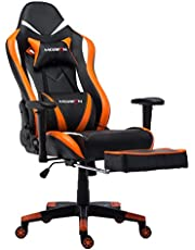 Morfan Gaming Chair AF Large Size Massage Racing Style Office Chair