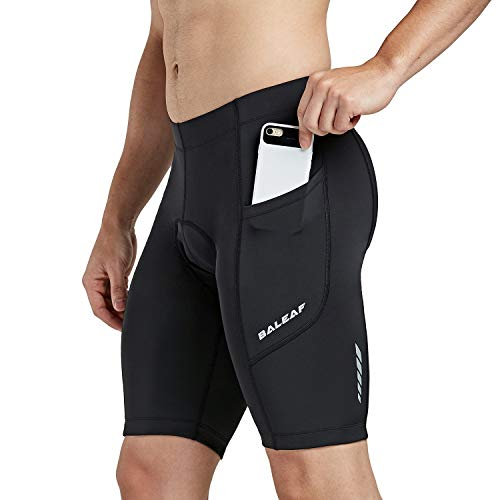 BALEAF Men's Cycling Shorts 3D Padded Bicycle Bike...