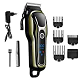 Professional Electric Men's Hair Clipper Shaver Trim Cordless Razor
