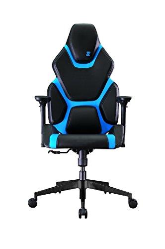 ZIMX ZGC1Professionelles Gaming Stuhl schwarz/blau