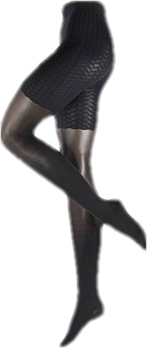 Falke Womens Cellulite Control 50 Denier Transparent Matte Tights - Black