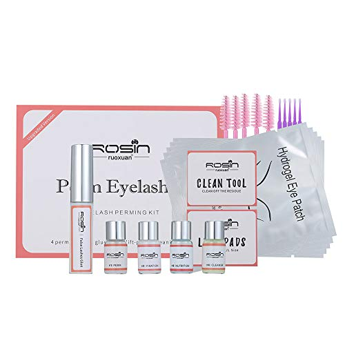 Anself Wimpernlifting Set Starter Kit, Wimpernverlängerungen und Wimpernlaminierung, Wimpernwelle, Semi-Permanent Wimpern Perming Kit