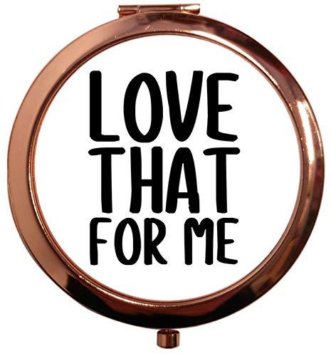 Flox Creative Miroir carré carré Doré Rose Love That For Me