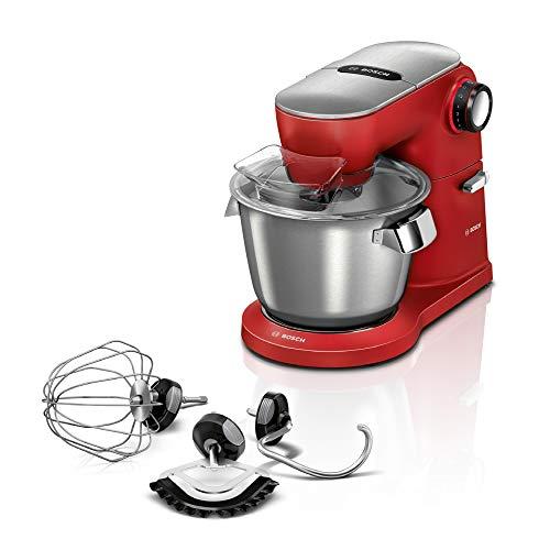 Bosch Hausgeräte MUM9A66R00 Optimum Küchenmaschine, 1600 Watt, rot