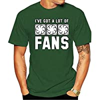 2021 Fashion T Shirts Midnite Star Cooling Men Letter Print I Ve Got A Lot Of Fans Music Basic Male Graphic O-neck 100% cotton