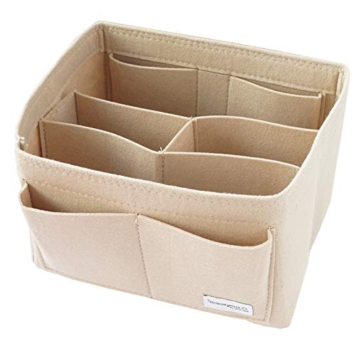 Classic Slash Taschenorganizer Filz für Handtaschen ab 26cm für Noé Grande I Beige