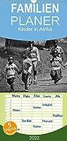 Kinder in Afrika - Familienplaner hoch (Wandkalender 2022 , 21 cm x 45 cm, hoch): Froehliche Kinder in Uganda (Monatskalender, 14 Seiten )