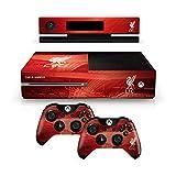 Liverpool FC Xbox 1 Una plataforma de mando y la consola de color rojo de la piel Anfield imagen Estadio escudo del club oficial de regalos
