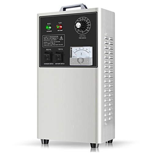 Review QMHG Industrial Ozone Generator 3,000 mg/h High Capacity Ozone Machine Air Purifier Home Air ...