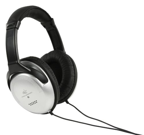 HQ Diseño Auriculares televisor 6metros cable. 6M STEREO Diadema Headphones Negro para...