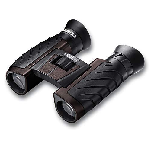 Steiner Safari Ultra Sharp - Prismático 10x26 (Dimensiones: 4,6 x 11,6 x 12 cm), negro y marrón