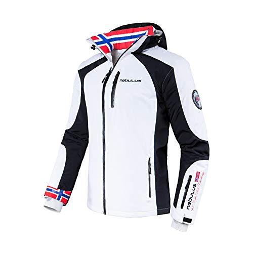 Nebulus Skijacke Davos T141 (Modell: Q730 / Herren, weiß; Größe: XXL) FBA