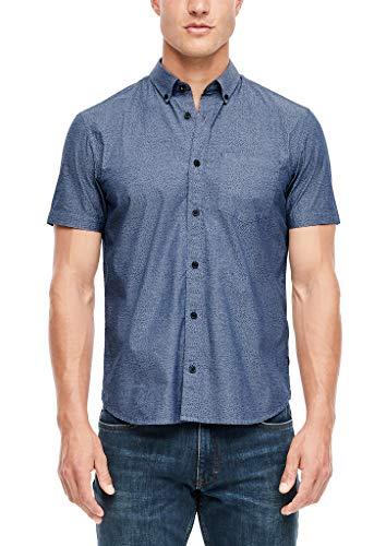 s.Oliver Herren 130.10.007.11.120.2055470 Hemd mit Button-Down-Kragen, 56A2, XL