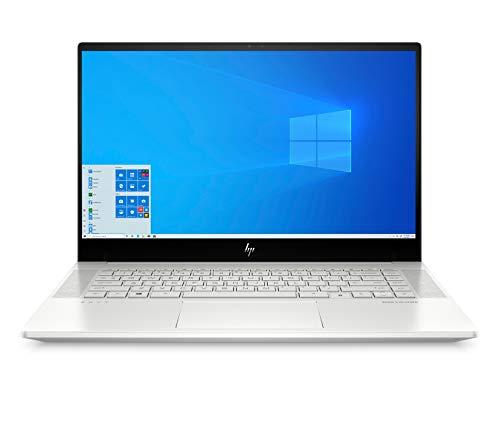HP ENVY 15-ep0060ng (15,6 Zoll / FHD IPS) Laptop (Intel Core i7-10750H, 16GB RAM, 1TB SSD, Nvidia Geforce GTX 1660Ti Max-Q 6GB, Fingerprintsensor, Thunderbolt, Win 10, QWERTZ) silber